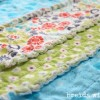 Pinspired and Produced #14 {making a baby rag quilt}
