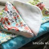 Sewing Lessons {making a baby washcloth}