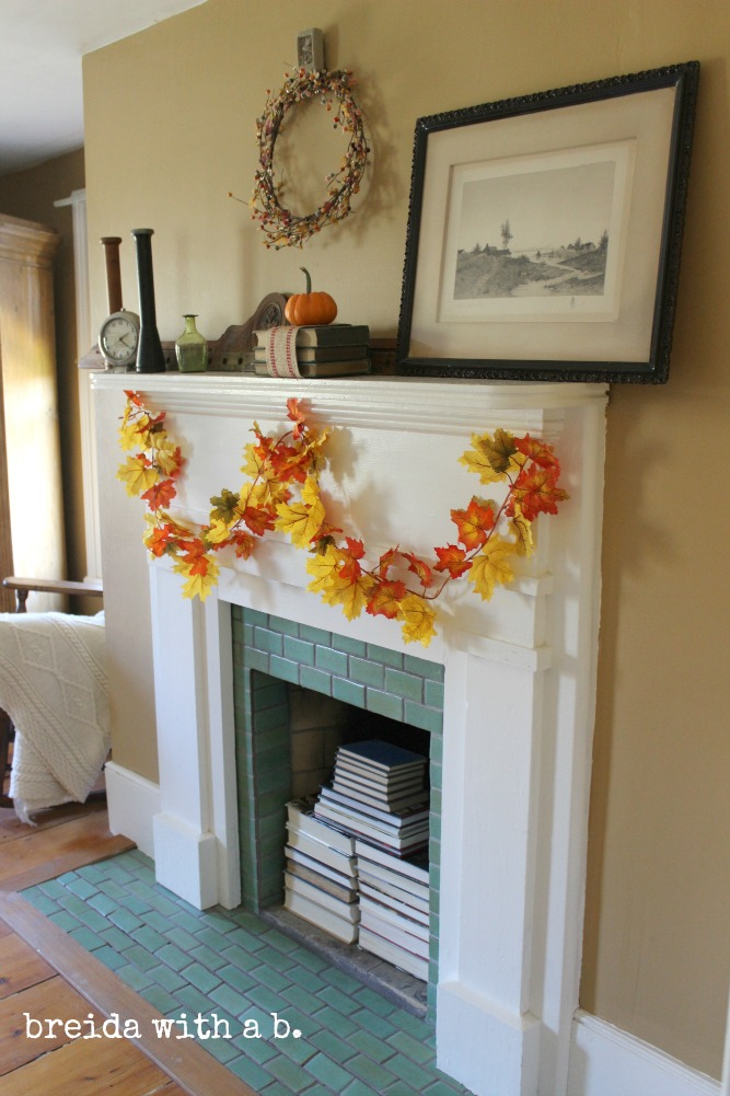 country Fall mantle
