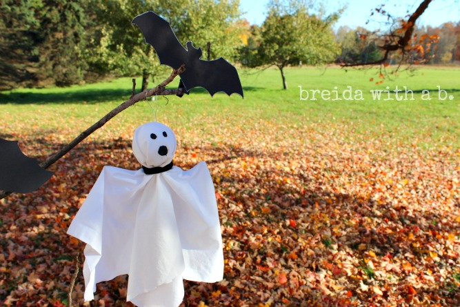 bats and ghosts kids halloween crafts
