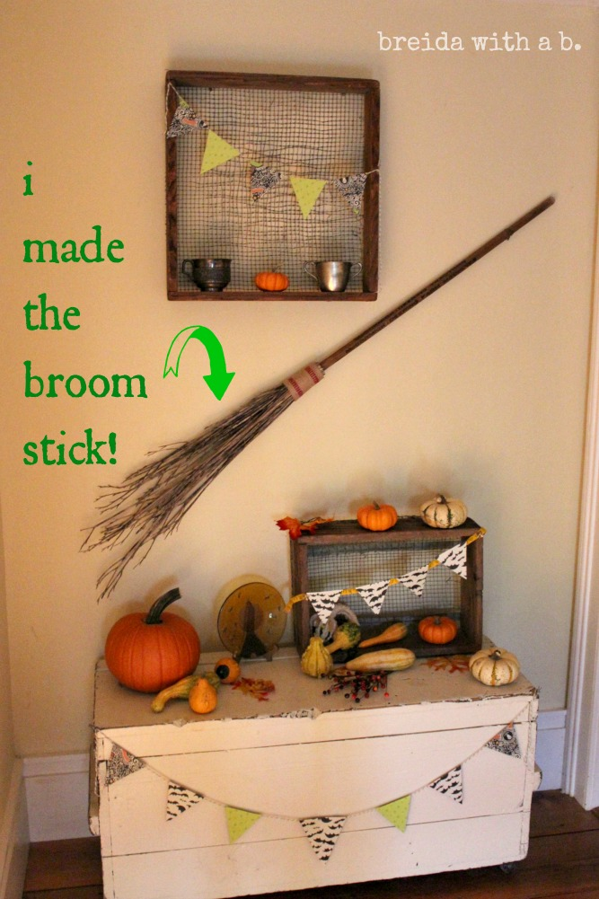 how to make a broomstick