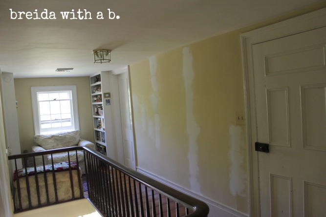 painting-built-in-bookshelves