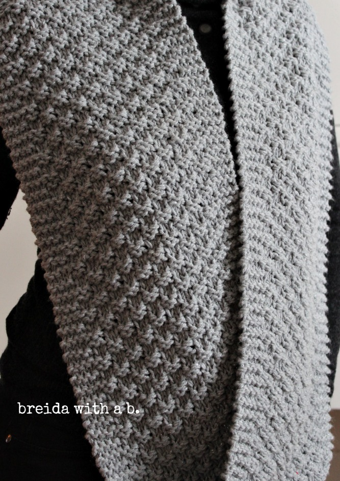Easy Knitting Stitches Scarves : Trying to Stay Warm...{knitting in a storm} - breida with a b.