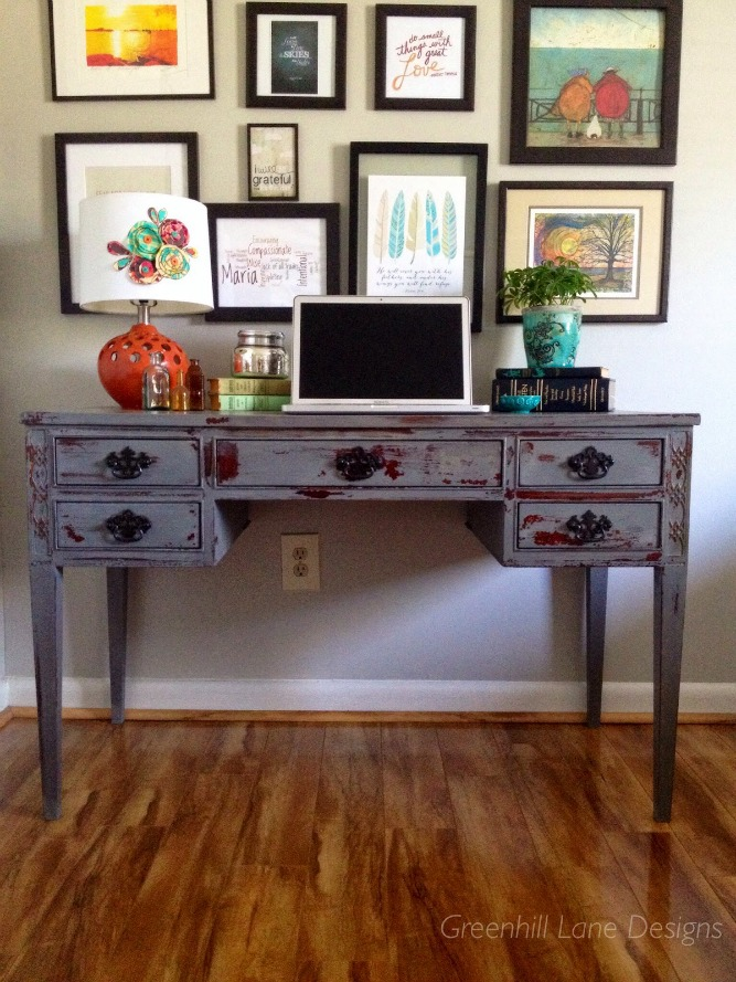Milk Paint Desk - Maria - Green Hill Lane Designs.jpg